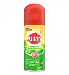 Autan Tropical Spray Sec 100ml