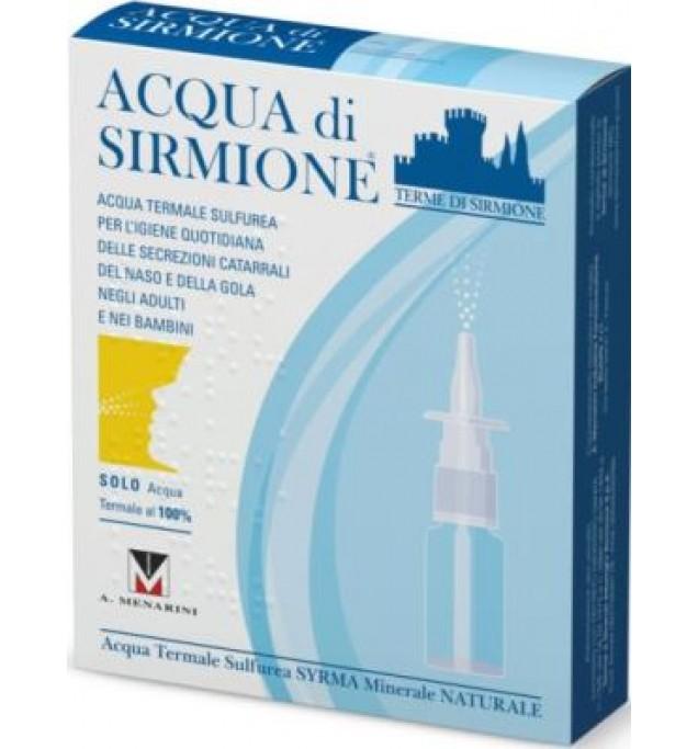 Acqua di Sirmione Minerale Naturale 6 fiale 15ml