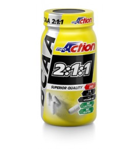Proaction Bcaa 250cpr 2 1 1