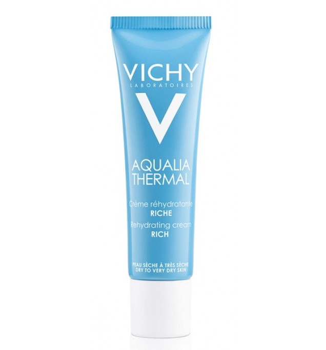 Vichy Aqualia Thermal Crema Ricca Tubo 30ml