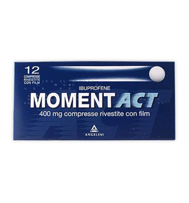 Momentact 12cpr Riv 400mg
