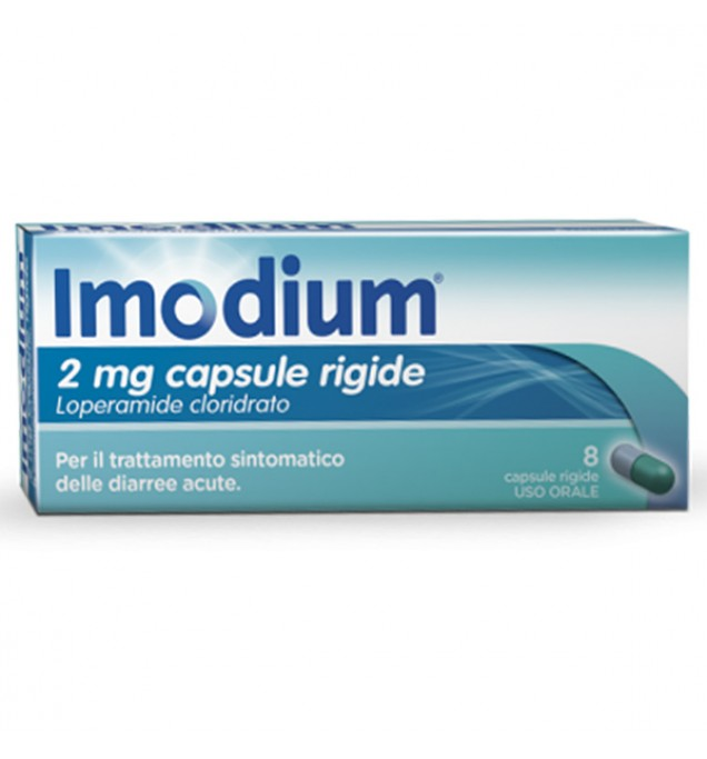 Imodium 8 capsule 2mg