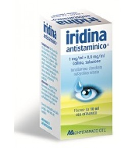 Iridina Antistaminico collirio 10+8mg