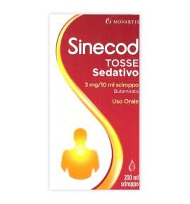 Sinecod Tosse Sed*200ml3mg/10g