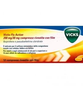 Vicks Flu Action 12 compresse