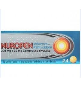 Nurofen Influen Raffredd*24cpr