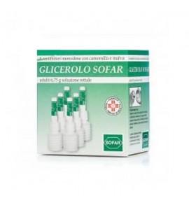 Glicerolo Sofar*6cont 6,75g