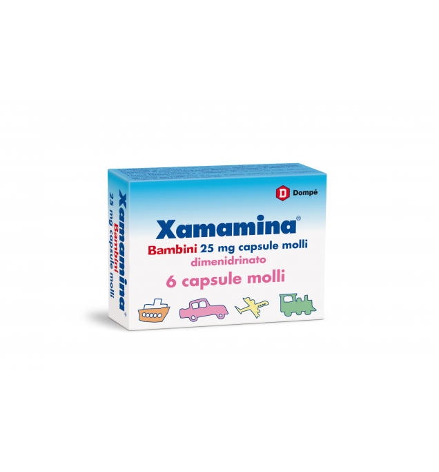 Xamamina*bb 6cps 25mg